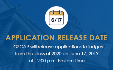 Application Release Date for the Class of 2020
