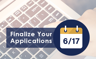 Finalize Your Applications
