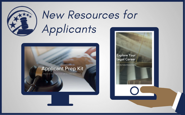 New Resources for Applicants