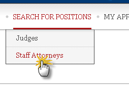 Search Staff Attorneys tab